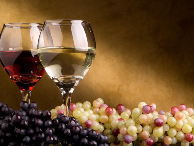 Виноградный сок.