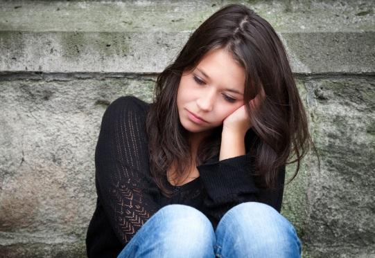 depressed woman И о психосоматике…