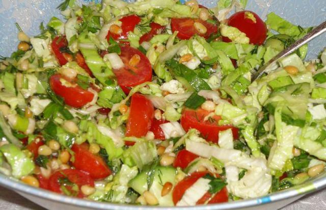 Salat s kedrovyimi oreshkami О хитростях кошачьих и прочих…