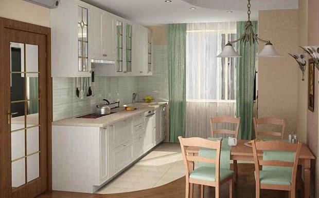 12 Удобная кухня