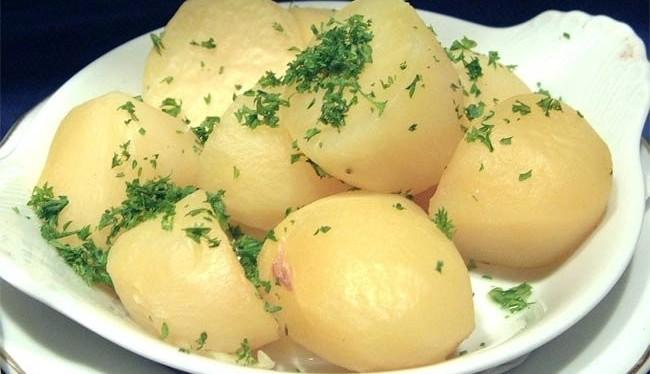 Полезный и вредный картофель.