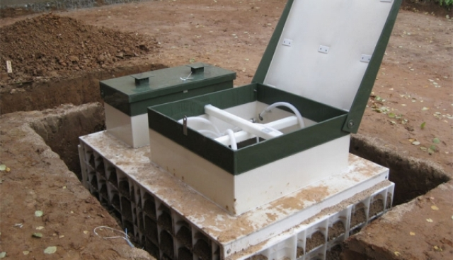 organizaciya kanalizacii v zagorodnom dome foto largest Купить септик Топас