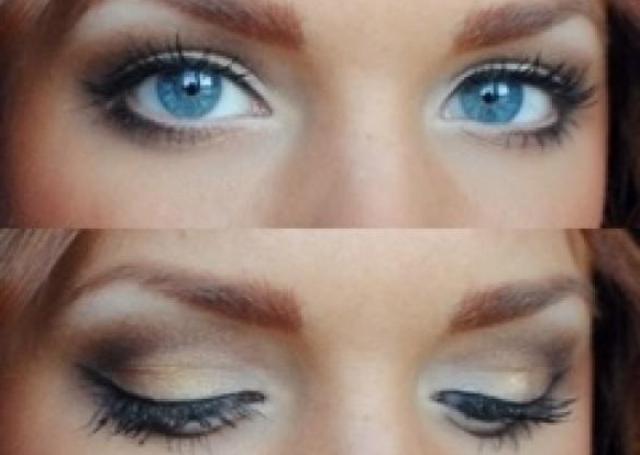 wedding makeup Косметика для глаз