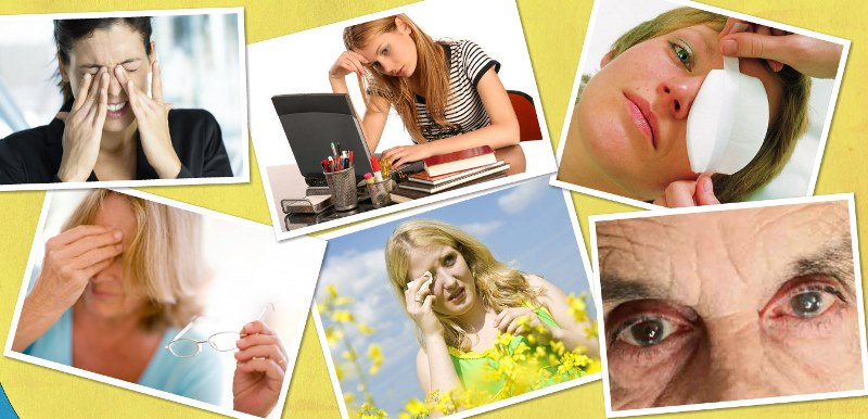 perv Кратко о глазных болезнях