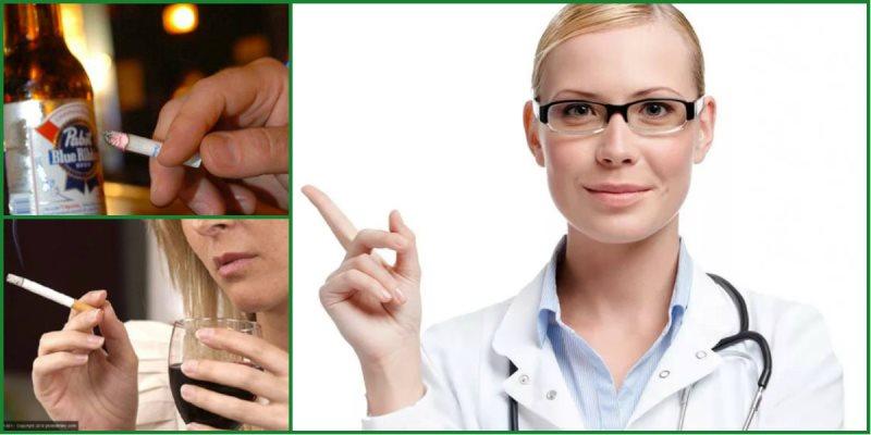 Здоровье почек и вредные привычки